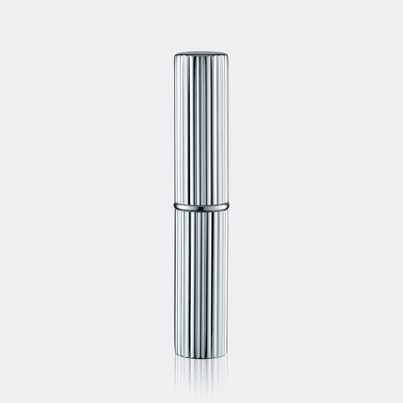 GL501 Custom Lipstick Tubes 85mm Height Slim Shape With Aluminum Package